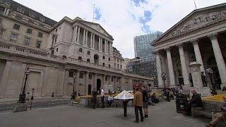 """البنك المركزي الإنجليزي يحذر من فترة """"صعبة"""" على سوق المال البريطاني"""
