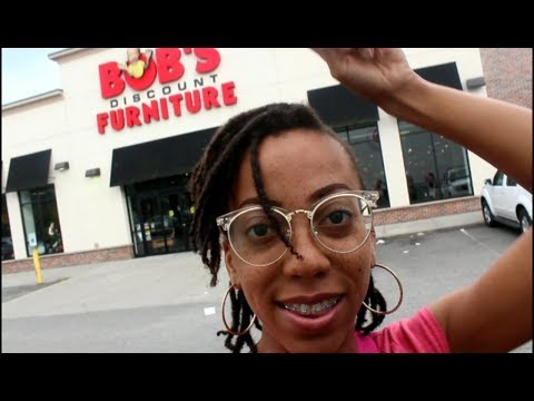 My First Apartment #13 | Let's Go to BOB'S FURNITURE STORE + Transparent Moment