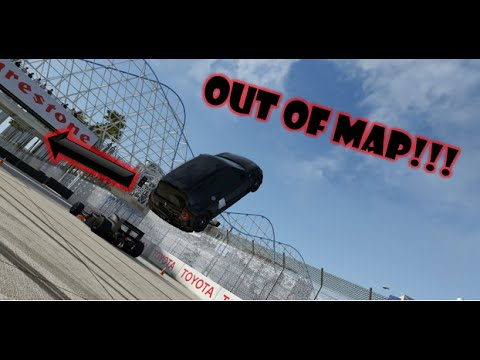 Forza 6 Out of Map Glitch Long Beach YouTube