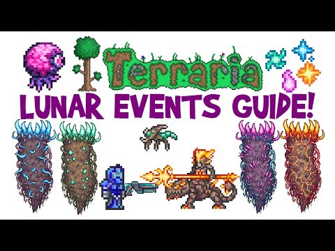 Terraria Lunar Event Guide! Celestial Pillars/Towers Boss Fi