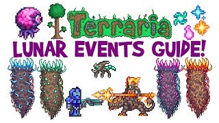 Terraria Lunar Event Guide! Celestial Pillars/Towers Boss Fight, How to Summon & Gameplay!