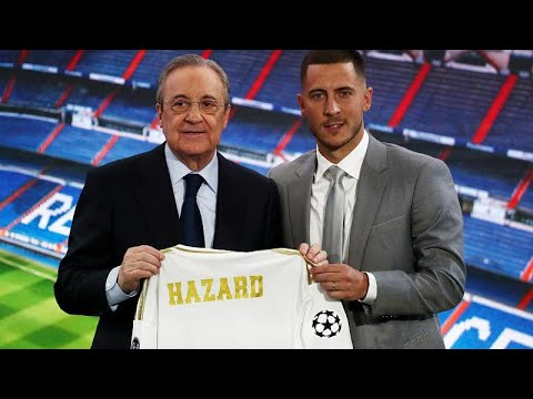 France 24:Belgian star Eden Hazard unveiled as Real Madrid player