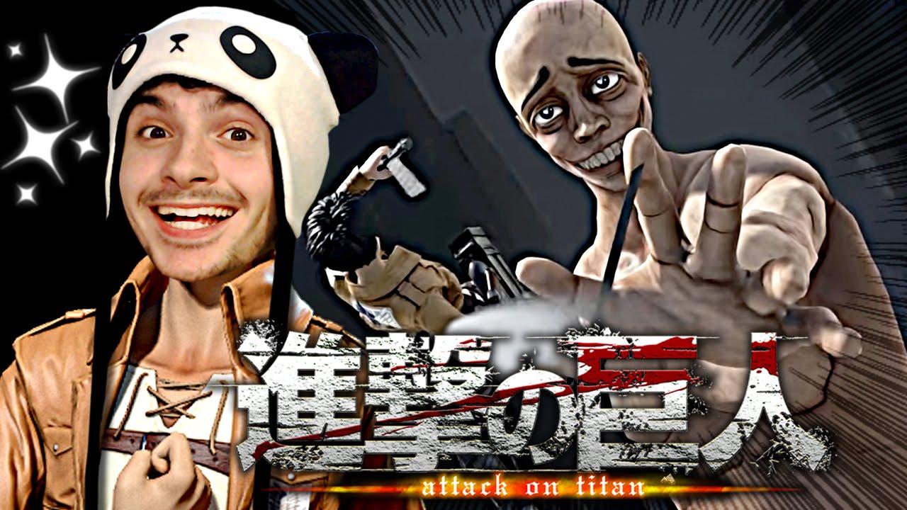C'EST GÉNIAL !!! [Guedin's Attack on Titan Fan Game | Let's Play FR]
