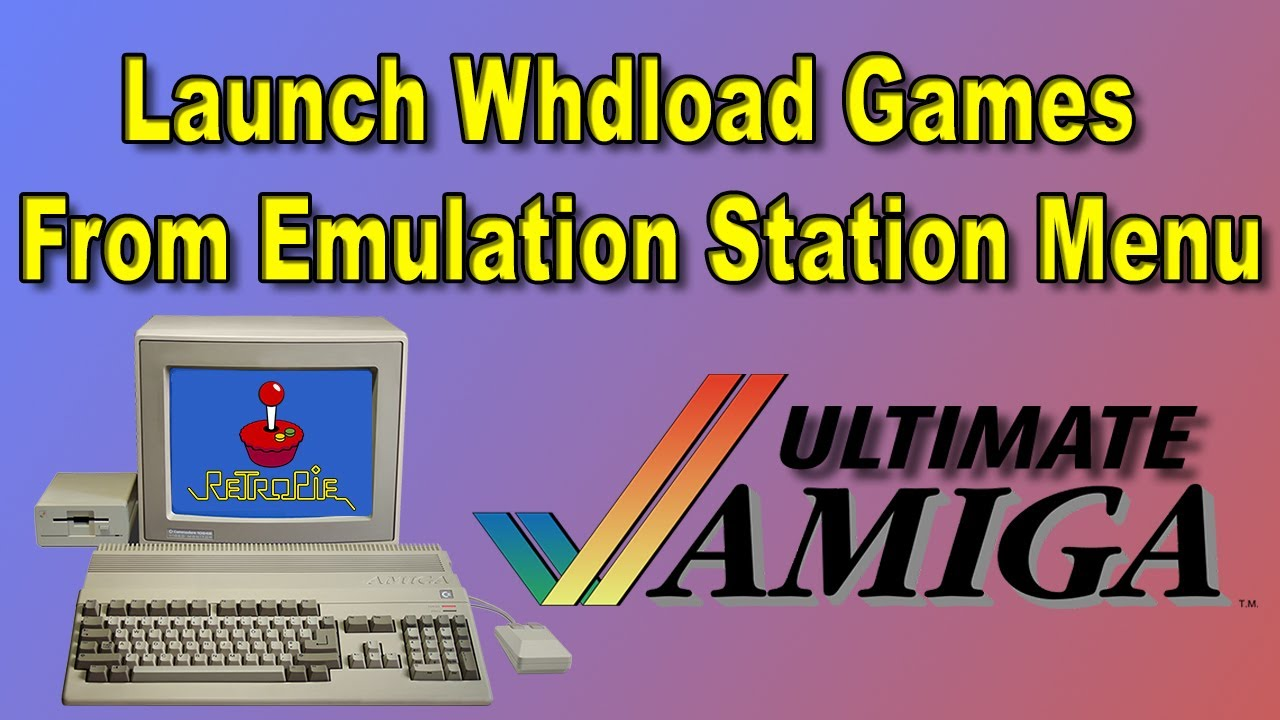 Ultimate Amiga For RetroPie Launch WHDLoad Games From ES Menu