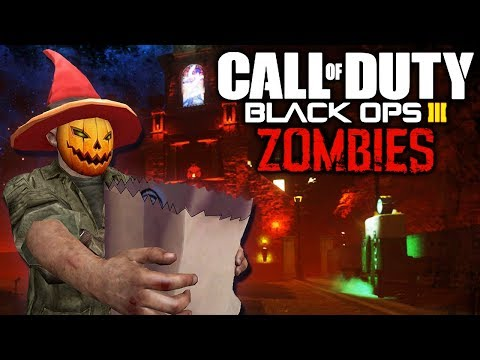 SPUDDLEY'S HALLOWEEN ZOMBIES SPECIAL! (Call of Duty Black Ops 3 Halloween Zombies)