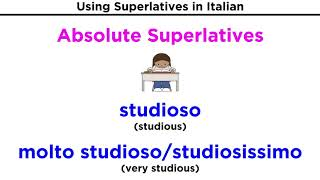 Superlatives in Italian: Relative and Absolute