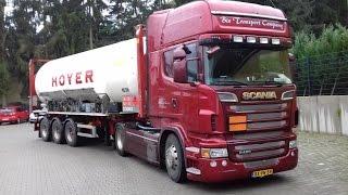 Trucking to Switserland