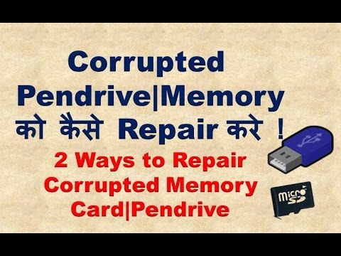 Corrupted Micro SD Card Repair Software/Tool