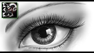 realistic eye draw drawing drawings