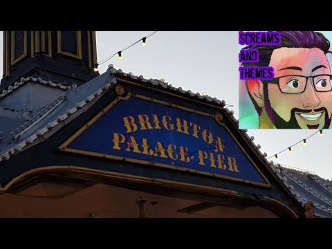 Brighton Palace Pier and Promenade - Brighton, E Susx. - Feb. 2018
