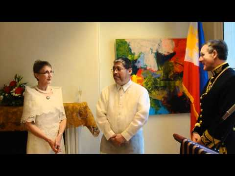HM Marshal of the Diplomatic Corps's Remarks on Ambassador Manalo's Presentation of Credentials