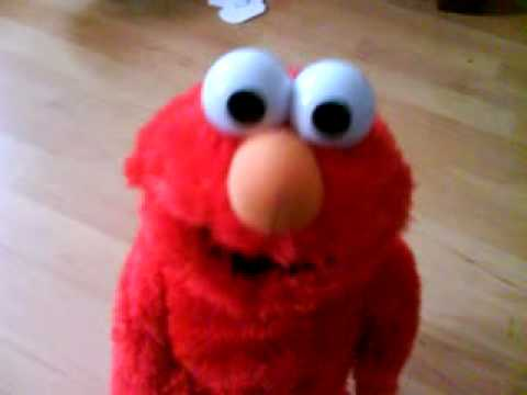 elmo laughing out loud!
