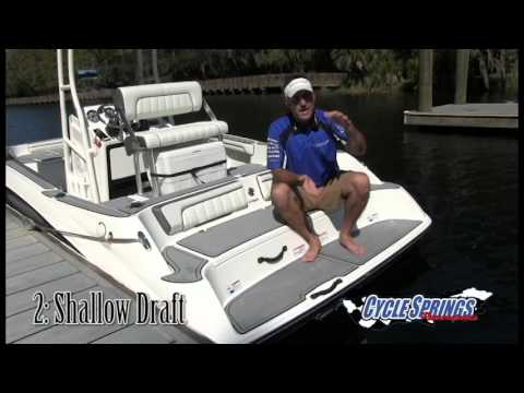 Top 3 Reasons To Buy A Jet Powered Center Console