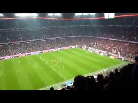 Bayern go 2 nil up against Monchengladbach