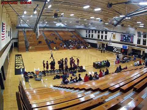 Elgin High School 22 (Maroon) at Streamwood High School 47 (White); December 2, 2017; Part 2