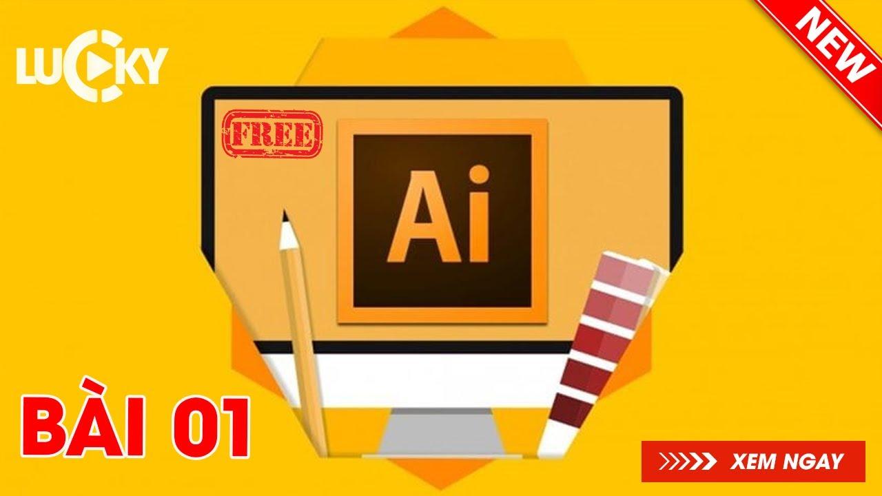Hướng dẫn sử dụng illustrator cc 2018 cho người mới bắt đầu   Bài 1: Cách tạo file làm việc