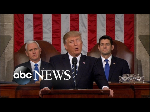 Trump Congress Speech on Foreign Policy and NATO Support | ABC News