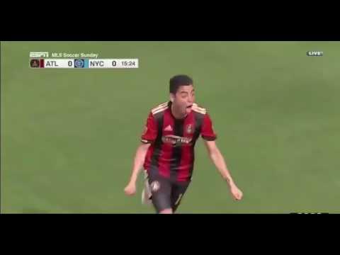 El primero de Miguel Almirón para el Atlanta United contra el New York City