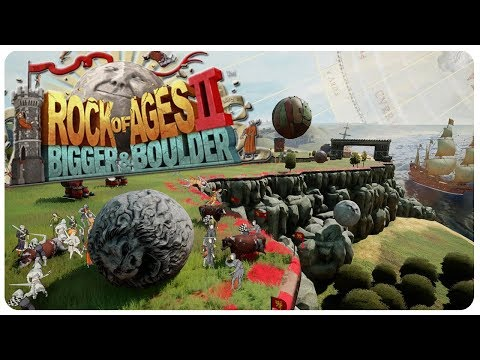 Greatest Rock Destroying Game Ever! | Rock of Ages 2: Bigger & Boulder Gameplay