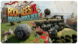 Greatest Rock Destroying Game Ever! | Rock of Ages 2: Bigger & Boulder Gameplay