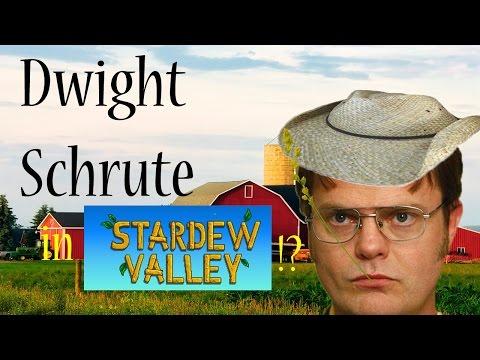 DWIGHT SCHRUTE IN STARDEW VALLEY!?