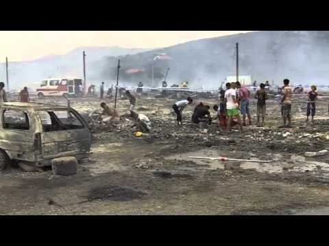 Fire Destroys the Homes of Hundreds of Roma Refugees in Montenegro