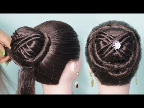 2-easy-and-fast-wedding-hairstyles-with-elegant-braids-for-marriage-/-party-2019-|-party-hairstyles