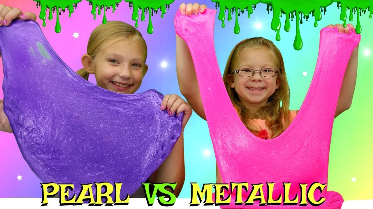 Pearl slime vs metallic slime challenge diy viral slimes tested pearl slime vs metallic slime challenge diy viral slimes tested magic box ccuart Gallery