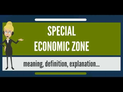 What is SPECIAL ECONOMIC ZONE? What does SPECIFIC ECONOMIC Z