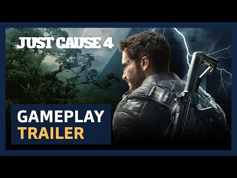 Just Cause 4: Announcement Gameplay Trailer [PEGI]