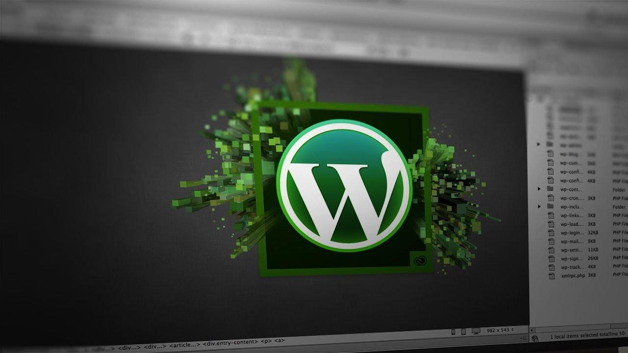 How To Set Up Wordpress In Dreamweaver Youtube
