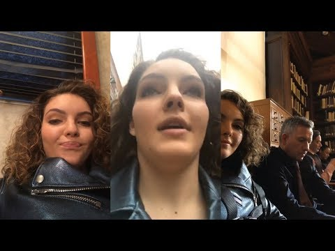 Camren Bicondova | Instagram Live Stream | 15 February 2018 [ Gotham Set ]