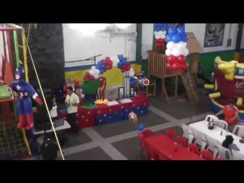 PIÑATA ALEXIS CAPITAN AMERICA FOTO+VIDEO IVAN CASTILLO