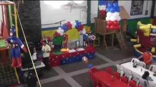 PIÑATA ALEXIS CAPITAN AMERICA FOTO+VIDEO IVAN CASTILLO(, 2013-07-05T00:41:32.000Z)