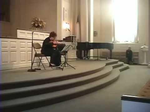 "Mikhail Zeiger ""Prayer"" for domra solo performed by Tamara Volskaya"