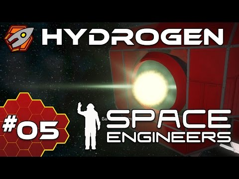 Space Engineers: Hardcore - Hydrogen upgrades - Episode 5