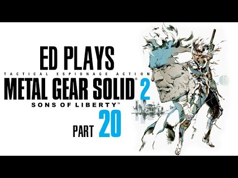 The End | Ed Plays Metal Gear Solid 2: Sons of Liberty #20 | PS3