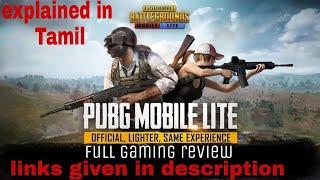 PUBG MOBILE LITE (Tamil) Full gaming review, game play, link on description!