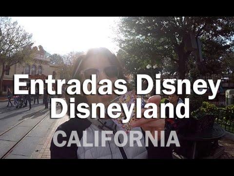 Entradas Disney, para Disneyland - CALIFORNIA