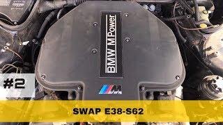 Проект BMW E38 M7    часть 2   Завелась!   BMWeast Garage
