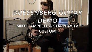 DUESENBERG MIKE CAMPBELL STARPLAYER VS STARPLAYER TV CUSTOM ( Demo by Luke Stamenkovich)