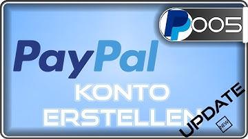 Paypal Konto erstellen mit & ohne Bankkonto   update