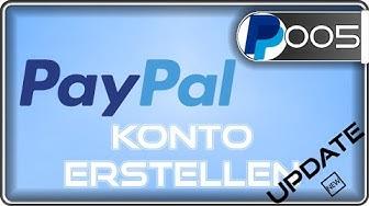 Paypal Konto erstellen mit & ohne Bankkonto | update