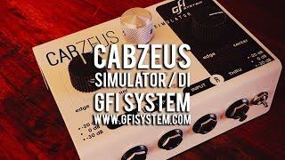 GFI System: CABZEUS Stereo Speaker Simulator & DI Box