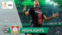 Borussia M'Gladbach - Bayer 04 Leverkusen 0:5 | Highlights - DFB-Pokal 2018/19 | 2. Runde