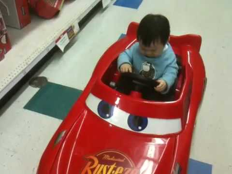 Colin Yang, 14month youngest speed racer