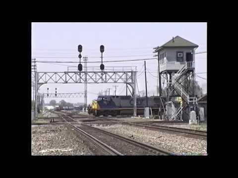 Trains Around Marion, Ohio 1990s (Conrail, CSX, NS)