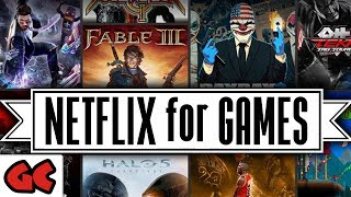 Ciao Triple-A Games  👋 HALLO Netflix for Games