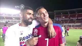 Blas Perez Habla del Juego y a quien se lo dedica #Panamá