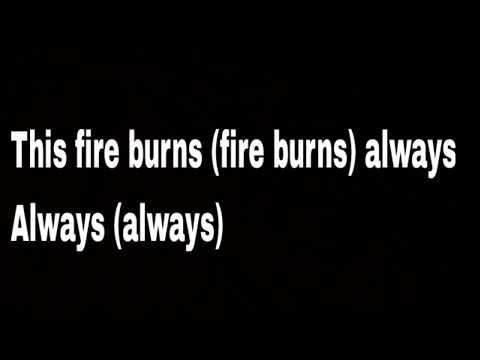 Killswitch Engage - This Fire Burns [C.M. Punk] (Lyrics)